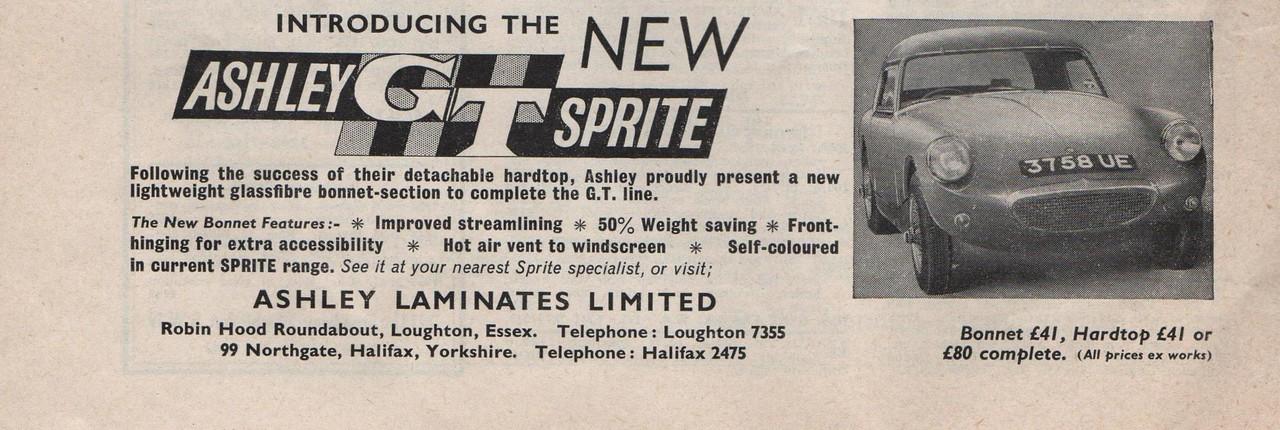 Ashley Autosport 1960 18th november