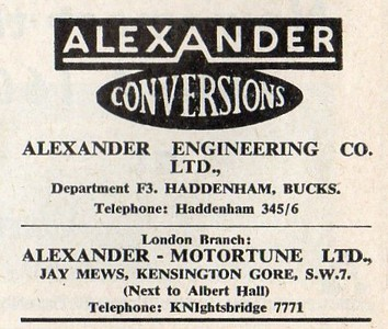 Alexander Autosport 1959 Sept