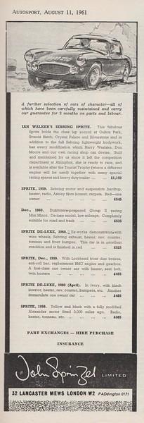 Autosport 1961 Vol.23 No.6 August.4