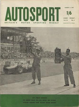 Autosport 1961 Vol.23 No.6 August.1