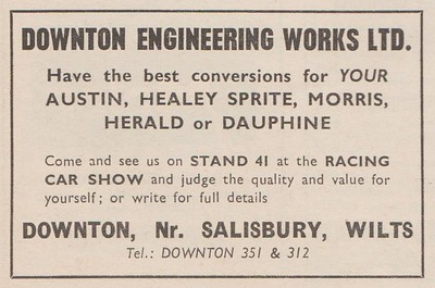 Downton Engineering Ltd 1960 December