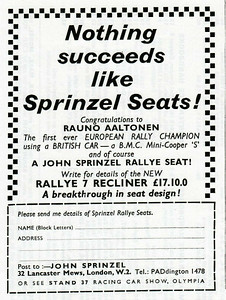 Sprinzel Seats
