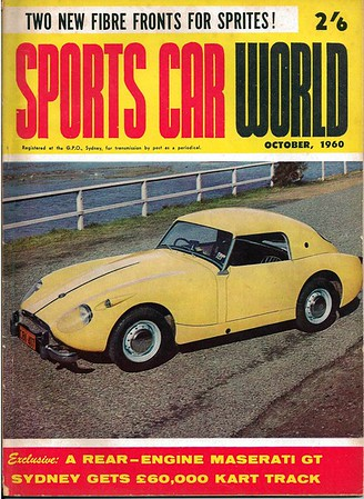 Sports Car World (Australia) 1960 October 1