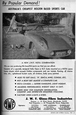 Sports Car World (Australia) 1960 October 6