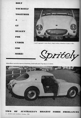 Sports Car World (Australia) 1960 October 2