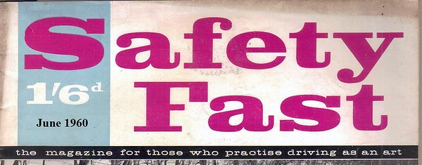 Safety Fast 1960  June