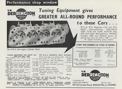 Derrington Ltd Cylinder Head