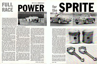 Sports Car Graphic 1961 July 2