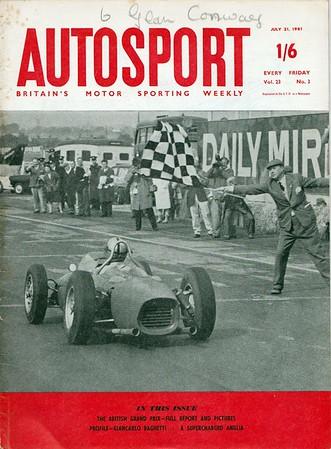 Autosport 1961 Vol.23 No.3 July.1