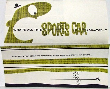 Hicks and Co Sports Car pamphlet 1.