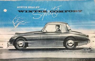 Austin Healey Winter Comfort Hardtop