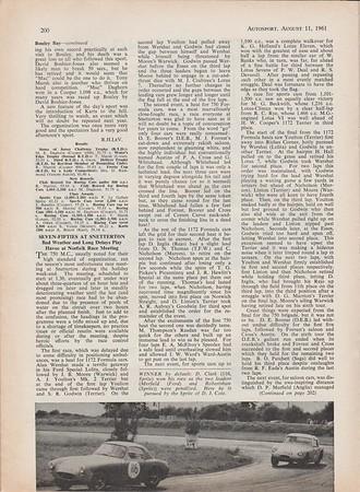 Autosport 1961 Vol.23 No.6 August.2