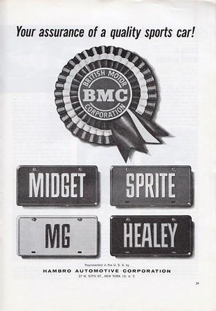 BMC Hambro USA Safety Fast 1963 January