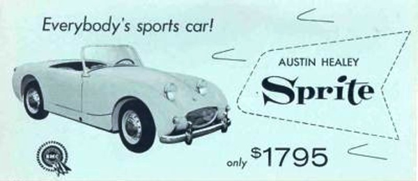 BMC Everybody's Sports Car USA
