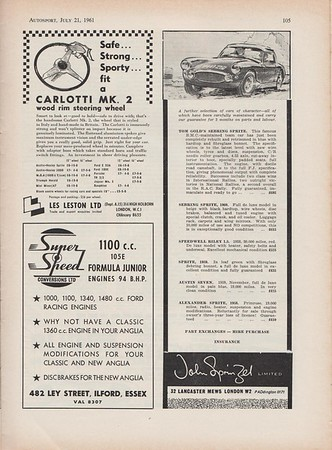 Autosport 1961 Vol.23 No.3 July.4
