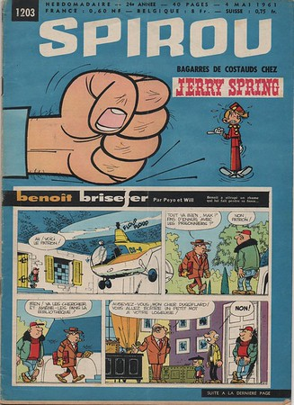 Spirou 1961 May 4 French 1