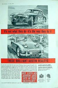 BMC These Brilliant Austin Healeys
