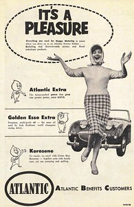 Esso Advert Wheels 1960 September 1st