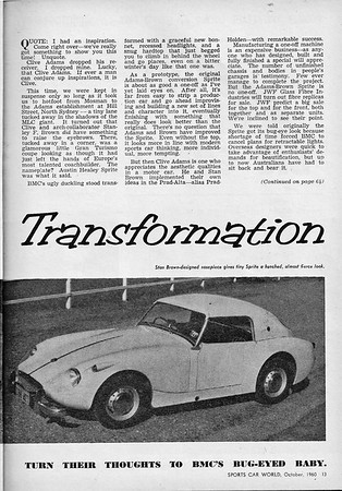 Sports Car World (Australia) 1960 October 3