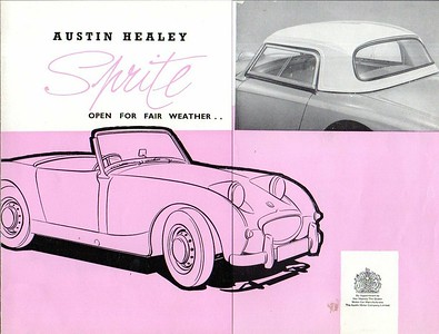Austin Healey Sprite Hardtop Brochure 1