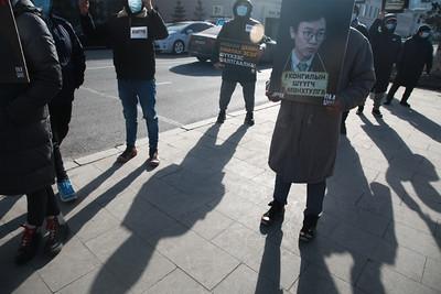 2021 оны хоёрдугаар сарын 24. Ерөнхийлөгч Х.Баттулгад Хонгилын шүүгч нарт хариуцлага тооцох шаардлагыг Дархан Монгол Ногоон нэгдэл, Нэхүүл хөдөлгөөнөөс хүргүүлж байна.  ГЭРЭЛ ЗУРГИЙГ Д.ЗАНДАНБАТ/МРА