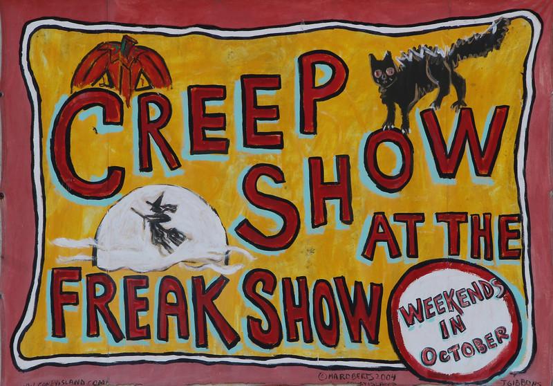 Creep show at the freak show