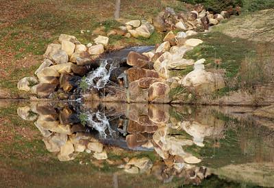 Falls reflected