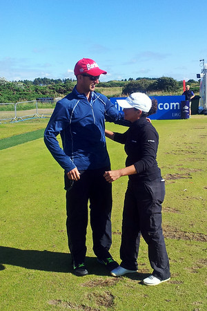 Mo Martin wins the 2014 Ricoh Women's British Open.