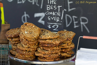 "If you believe the sign, ""The Best Cookie Ever"""