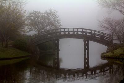 Bridge to the Japanese Garden Sacred Island  - II
