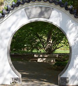 Chinese Garden entryway