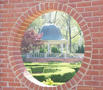 Boxwood Garden and shelter