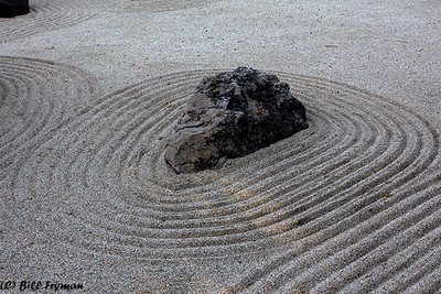 Dry rock garden, Japanese Garden