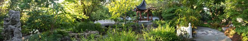 "Chinese Garden, Original image 16"" X 96"""