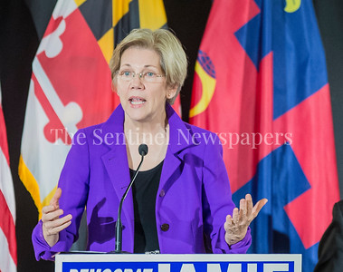 Senator Elizabeth Warren (D-MA) at Jamie Raskins Democratic Resistance Revival in Silver Spring MD