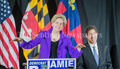 Senator Elizabeth Warren, at Jamie Raskins Democratic Resistance Revival in Silver Spring MD
