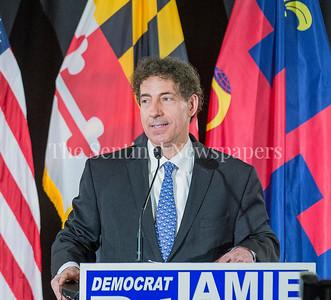 at Jamie Raskins Democratic Resistance Revival in Silver Spring MD