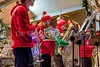 12/3/2016 - The Pritchard Music Honors Brass Quintet performs at the Gaithersburg Jingle Jubilee, ©2016 Jacqui South Photography