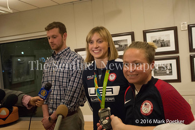 12 19 2016 Montgomery County Recognizes 4 Olympians from County.