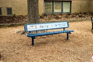 02 03 2017 Jones Lane ES Friend Bench