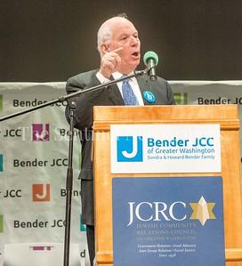 Senator Ben Cardin (D-MD), 03 03 2017 JCC Hate Crime Solidarity Event