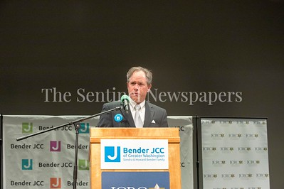 Montgomery County Council President Roger Berliner, 03 03 2017 JCC Hate Crime Solidarity Event
