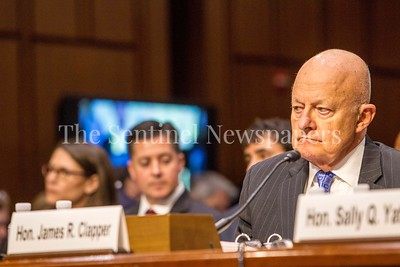 General James Clapper, DNI, Retired, 05 08 2017 Sally Yates and General James Clapper testify before Senate Judiciary Committee