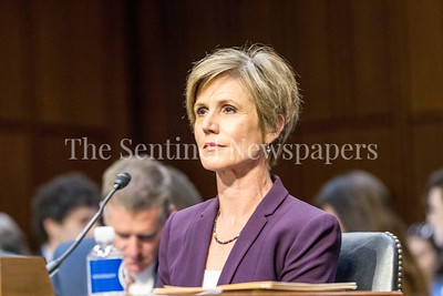 Sally Yates, US Ast. Aty. General, 05 08 2017 Sally Yates and General James Clapper testify before Senate Judiciary Committee