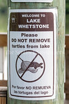 6/27/2017 - Signs posted at Lake Whetstone in Montgomery Village, MD, �2017 Jacqui South Photography