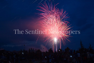 07 04 2017 Rockville City Fireworks for the Forth of July Celebration at the Mattie JT Stepanek Park.
