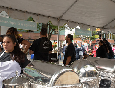 October 5, 2019 - Vendors from the 2019 Taste of Bethesda enjoyed large crowds at this year's events in the Bethesda's Woodmont Triangle area. Photo by Mike Clark/The Montgomery Sentinel