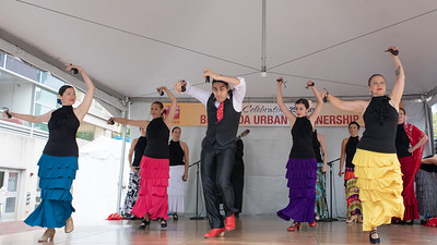 October 5, 2019 - Furia Flamenca was one the crowd favorite music and dance groups at this year's Taste of Bethesda in the Woodmont Triangle area. Photo by Mike Clark/The Montgomery Sentinel