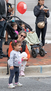 October 5, 2019 - One of the youngest Taste of Bethesda visitors was mesmerized by one of the many musicians that performed for large crowds. Photo by Mike Clark/The Montgomery Sentinel