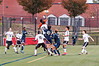 11/1/2016 - Wheaton goalie Yvan Nchoungou blocks a corner kick, ©2016 Jacqui South Photography